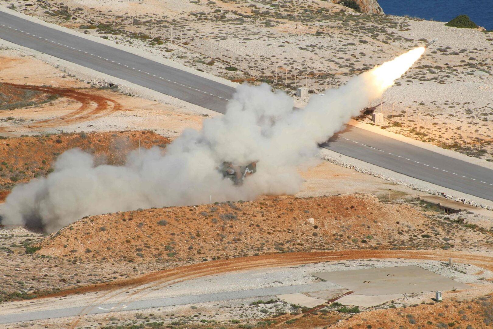 Βολές MLRS / RM70 στο Πεδίο Βολής Κρήτης  – ΔΕΙΤΕ ΦΩΤΟ