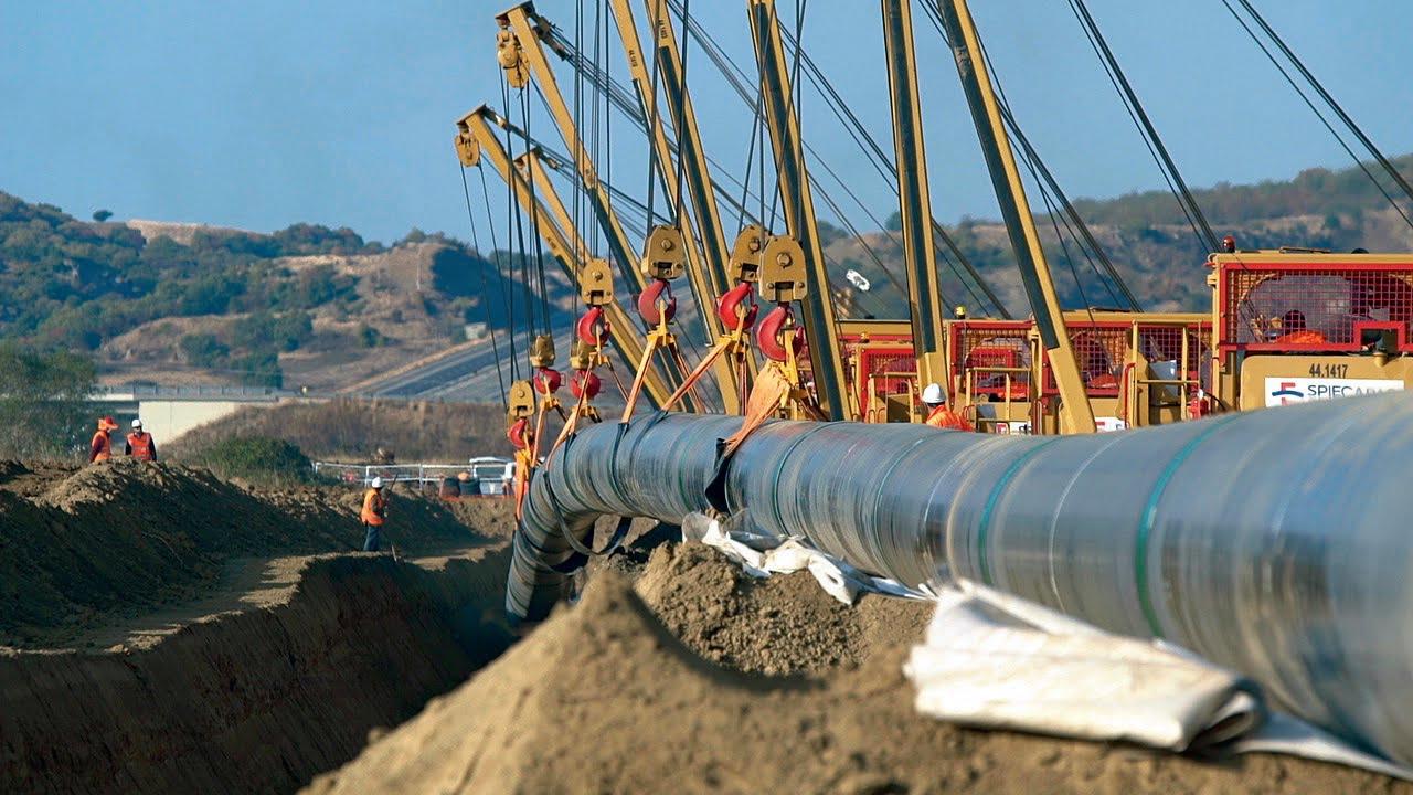 Ολοκληρώθηκε  η κατασκευή  του αγωγού φυσικού αερίου TAP