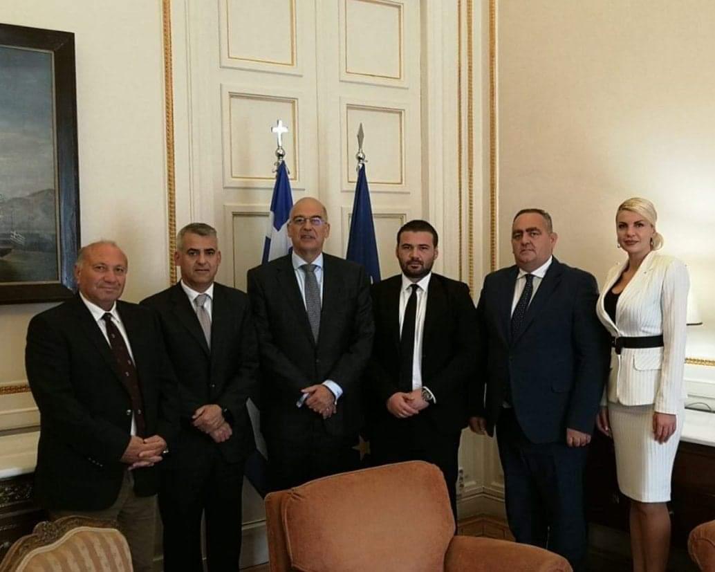 Συνάντηση ΥΠΕΞ με Ομονοία & ΚΕΑΔ: Η Ελλάδα σταθερά δίπλα στην ΕΕΜ