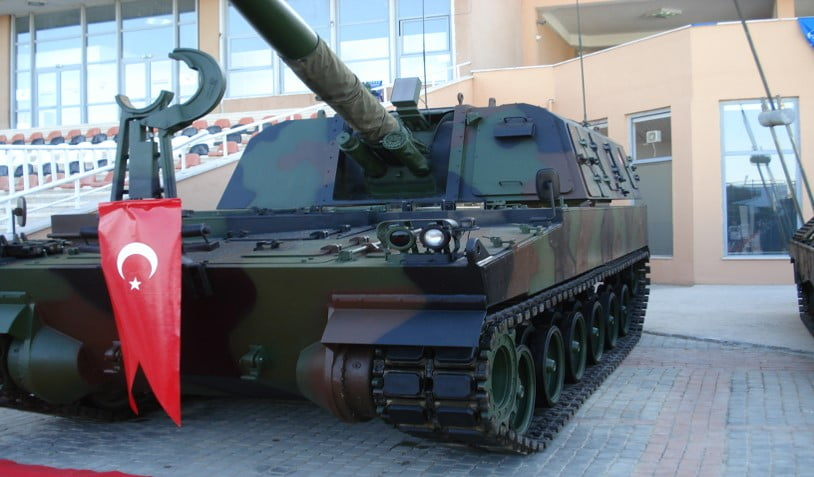 T-155 FIRTINA – KATAΣΤΡΑΦΗΚΕ ΑΠΟ ΚΟΥΡΔΙΚΟ ΑΝΤΙΑΡΜΑΤΙΚΟ