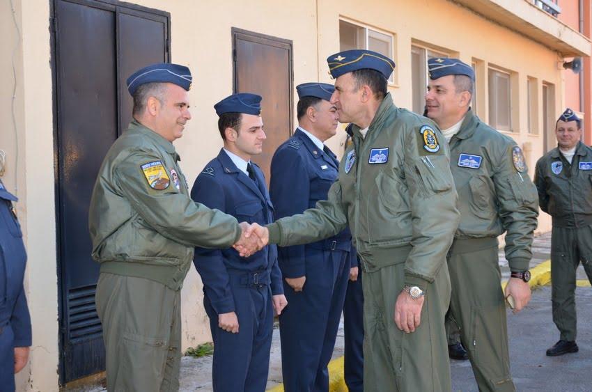 Επίσκεψη του αρχηγού ΤΑ στην Κρήτη
