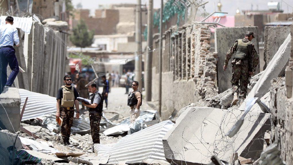Τουλάχιστον 5,σκοτώθηκαν σε έκρηξη αυτοκτονίας κοντά στη στρατιωτική ακαδημία της Καμπούλ