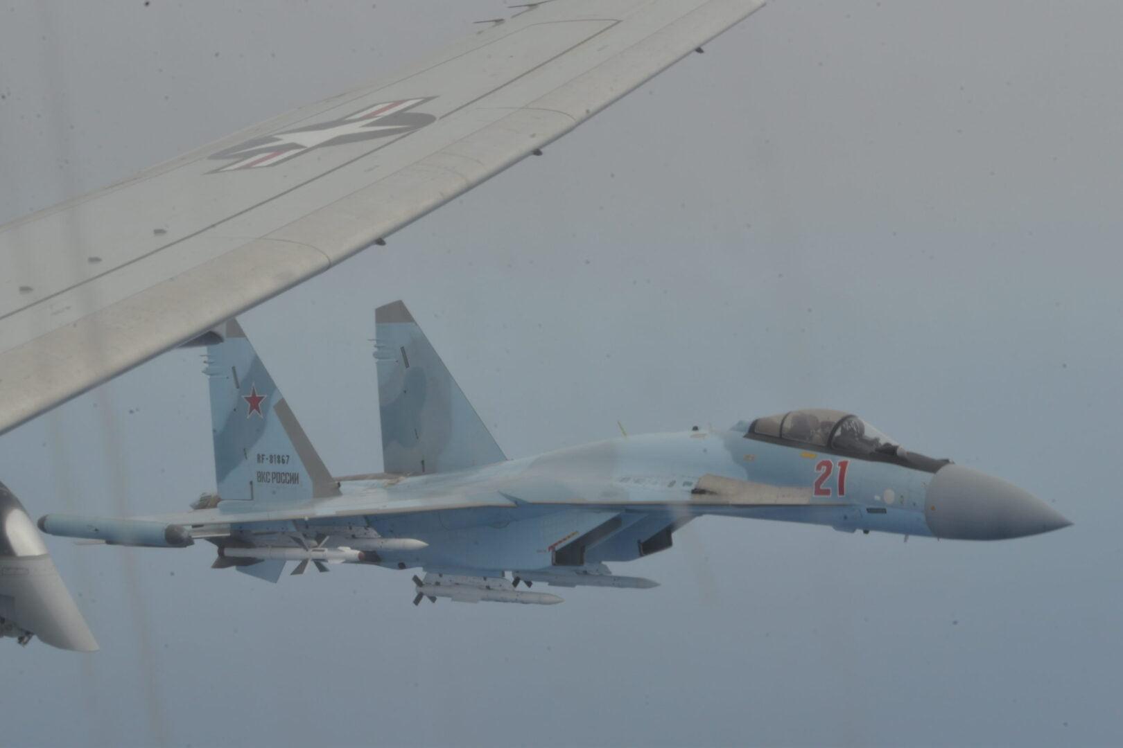 ΡΩΣΙΚΑ SU-35s ΑΝΑΧΑΙΤΙΣΑΝ ΑΜΕΡΙΚΑΝΙΚΟ P8 ΣΤΗ ΜΕΣΟΓΕΙΟ