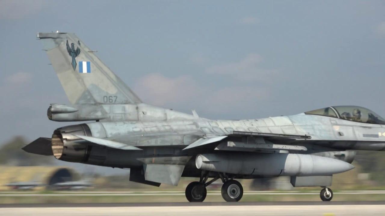 ΤΑ ΕΛΛΗΝΙΚΑ F16 ΣΚΕΠΑΖΟΥΝ ΤΗΝ ΚΥΠΡΟ