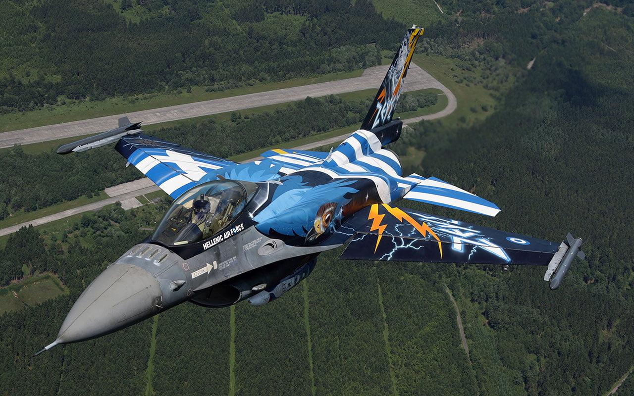 ΧΡΟΝΙΑ ΠΟΛΛΑ ΕΛΛΑΔΑ! – Τα λόγια του Έλληνα πιλότου F16