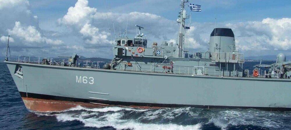 Εμπορικό πλοίο επεσε πανω σε Ναρκοθηρευτικό του ΠΝ – 2 Τραυματίες