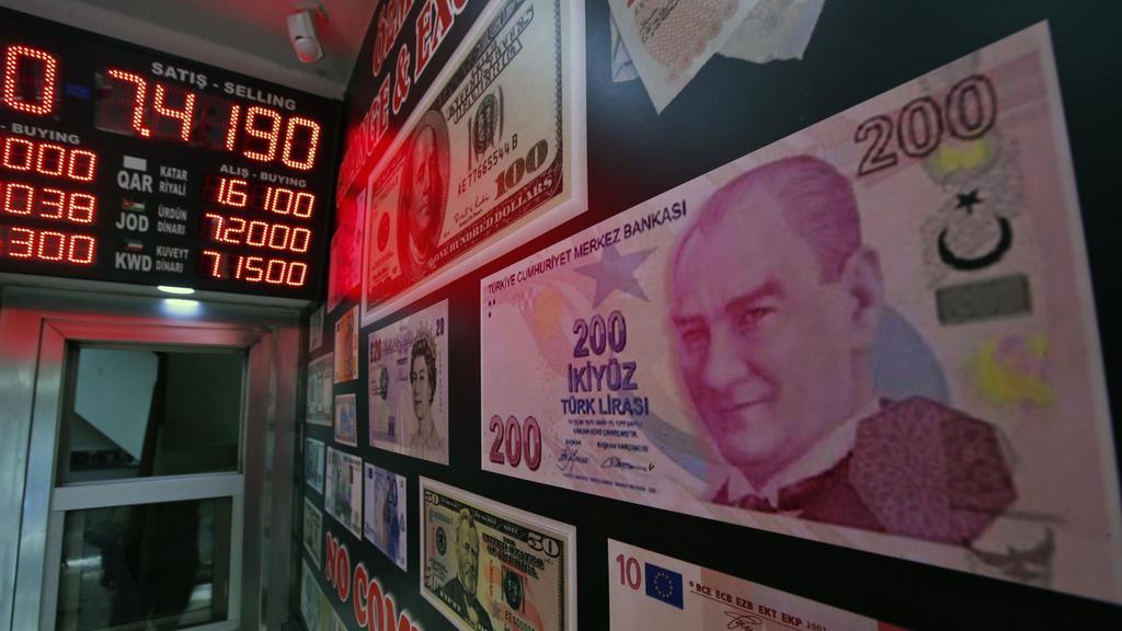 ΛΙΡΑ ΓΙΟΚ: Τεράστια πτώση της Τουρκικής λίρας – Φόβος των επενδυτών ο Ερντογάν