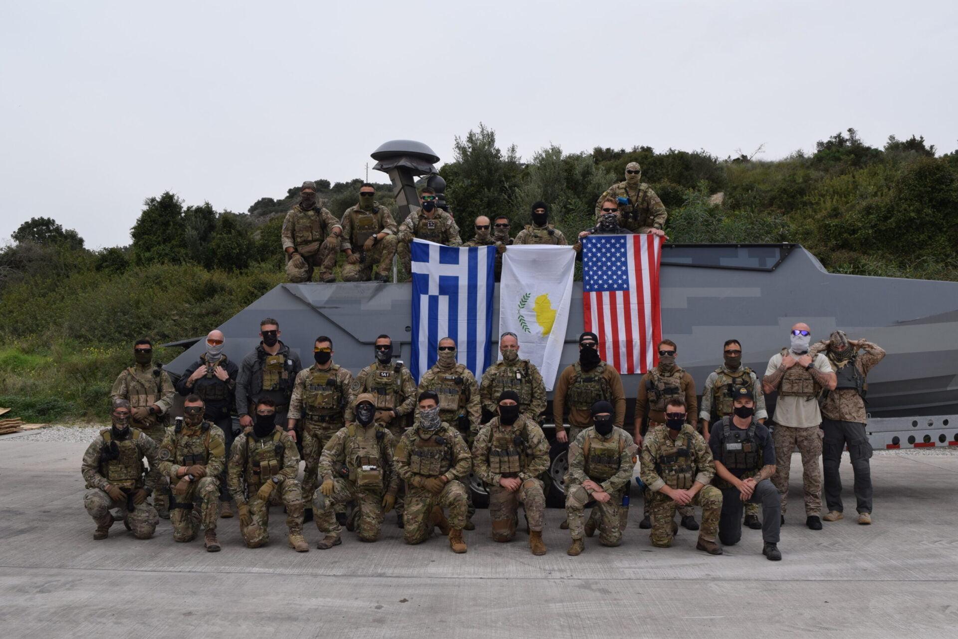 Ξεκίνησε τριμερής άσκηση Ελλάδας – ΗΠΑ – Κύπρου στην Κρήτη