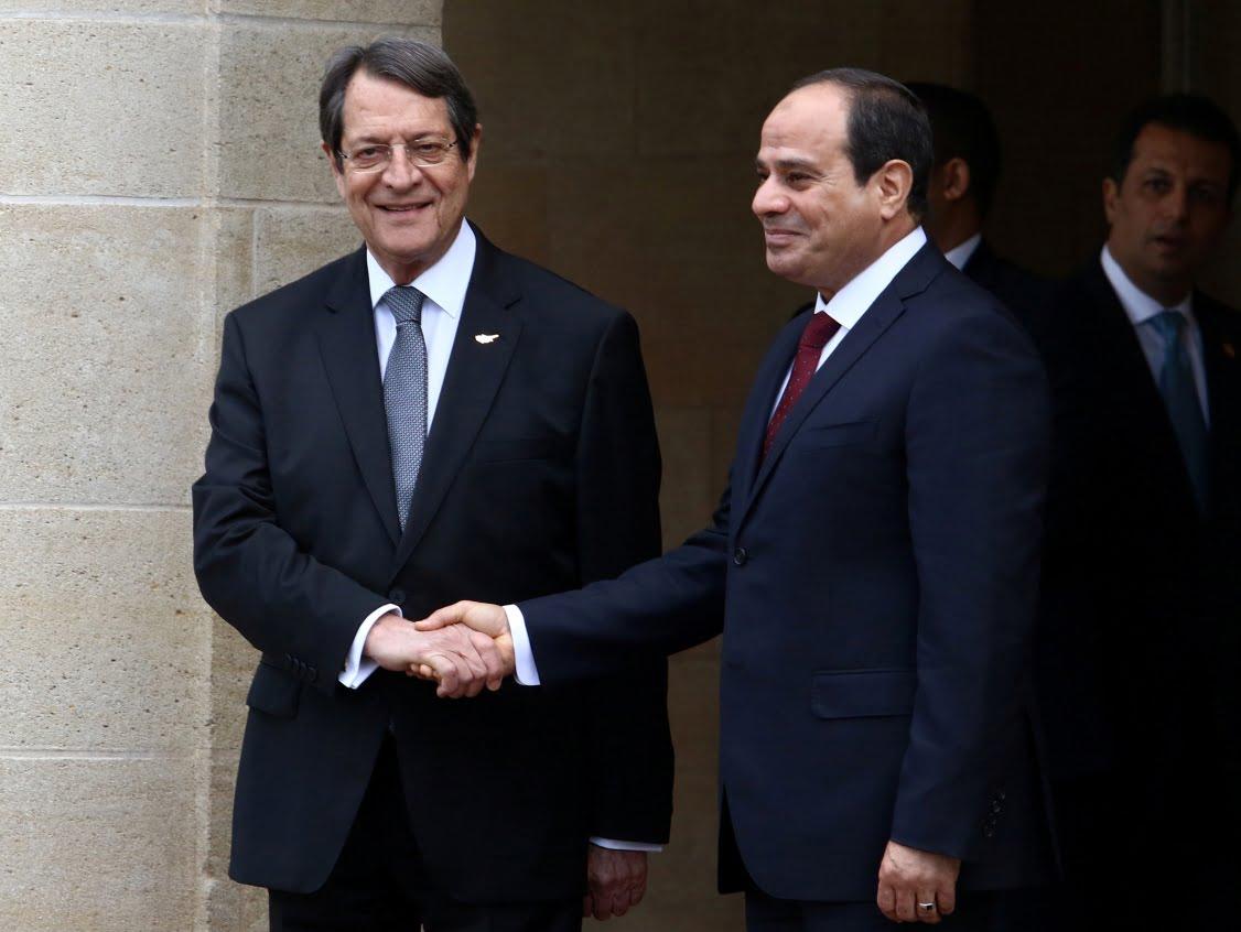 Τηλεφωνική επικοινωνία Αλ-Σίσι και Αναστασιάδη: Έχουμε άριστες σχέσεις