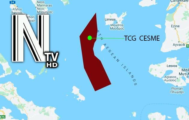 Τσεσμέ βόρειο τμήμα navtex, ΑΠΛΟΙ ΘΕΑΤΕΣ: Το Τσεσμέ παραβίασε την Ελληνική κυριαρχία και δεν μιλάει κανείς, NEMESIS HD