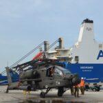 """ΤΕΡΑΣΤΙΑ ΑΜΕΡΙΚΑΝΙΚΗ """"ΑΠΟΒΑΣΗ"""": Πάνω από 150 ελικόπτερα στο λιμάνι της Αλεξανδρούπολης"""