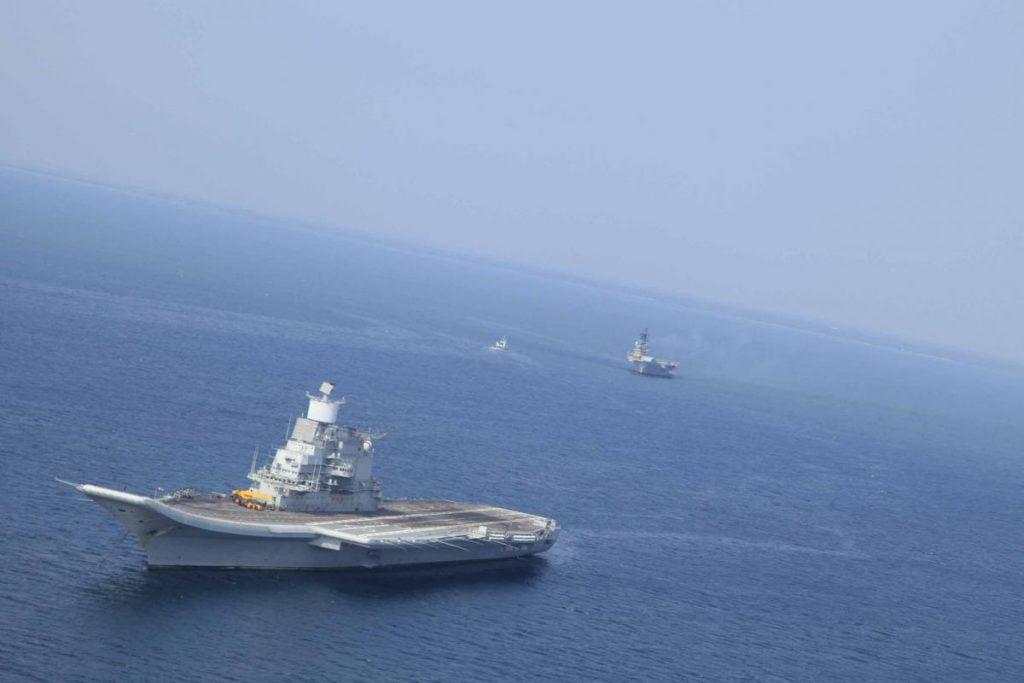 Τεράστια άσκηση του Ινδικού ναυτικού σε πλήρη εξέλιξη «TROPEX 21»