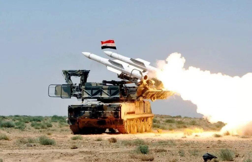 Η Συριακή αεράμυνα αντέδρασε σε Ισραηλινή επίθεση