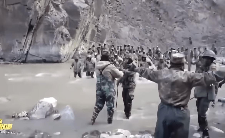 Κινεζικά ΜΜΕ δημοσιεύουν πλάνα από τη συνοριακή σύγκρουση Ινδίας και Κίνας
