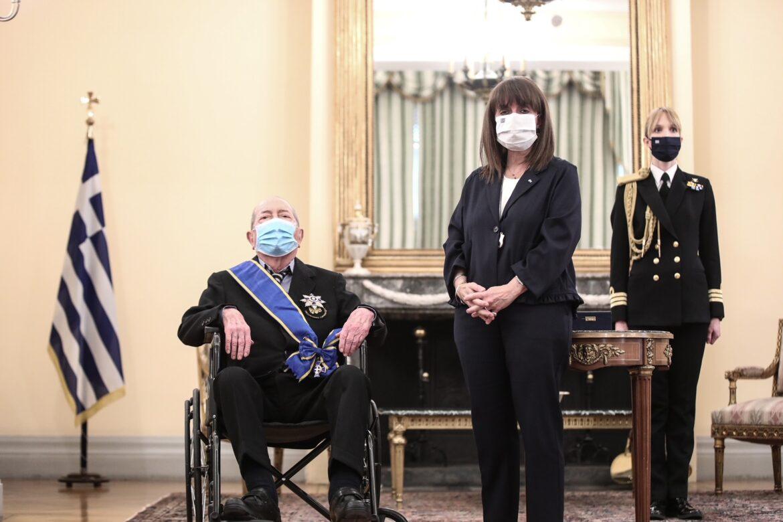 ευεργέτη Τσούνη Σακελλαροπούλου, ΠΑΡΑΣΗΜΟΦΟΡΗΘΗΚΕ ΑΠΟ ΤΗΝ ΠτΔ Ο ΙΑΚΩΒΟΣ ΤΣΟΥΝΗΣ: Ένας σύγχρονος εθνικός ευεργέτης, NEMESIS HD