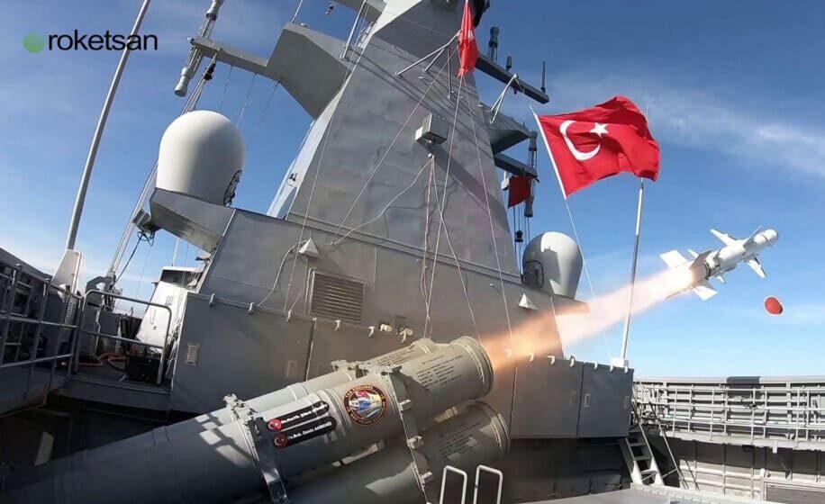 Οι Τούρκοι δοκίμασαν τον εγχώριας κατασκευής αντιπλοϊκό Atmaca