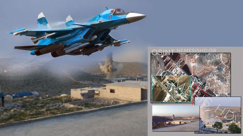Ρωσικά SU-34 σπέρνουν τον όλεθρο στους Ισλαμιστές της Ιντλίμπ