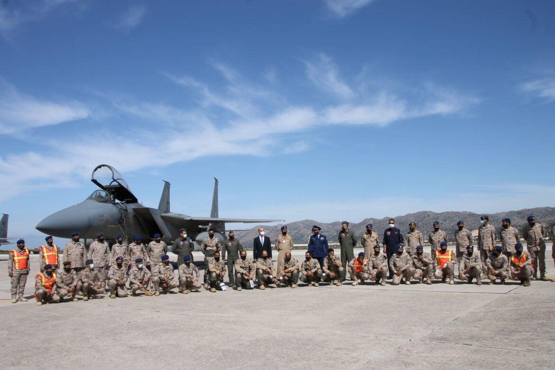 ΚΙΝΗΣΗ ΜΑΤ ΕΝΑΝΤΙΟΝ ΤΗΣ ΤΟΥΡΚΙΑΣ: Σαουδαραβικά F15 στη Σούδα