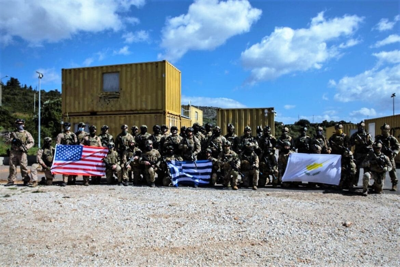 ΗΠΑ, ΕΛΛΑΔΑ ΚΑΙ ΚΥΠΡΟΣ: Κοινή άσκηση ειδικών δυνάμεων στη Σούδα