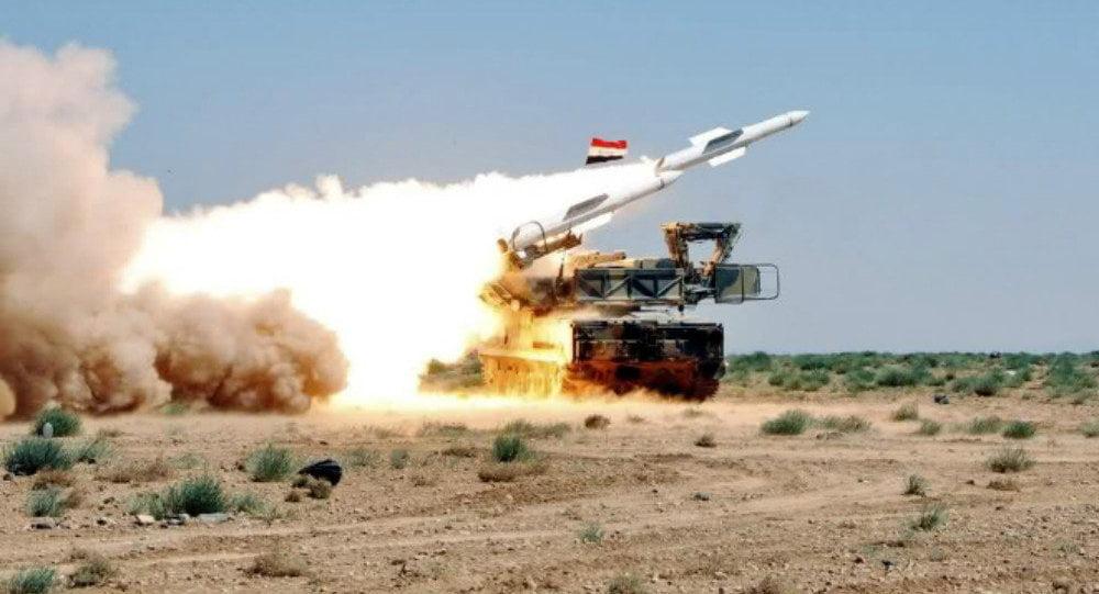 Αναχαίτιση Ισραηλινής επίθεσης στη Δαμασκό από τη Συριακή αεράμυνα