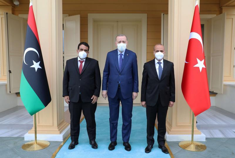 Ο πρώην Πρέσβης της Λιβύης στην Ελλάδα και νυν Λίβυος πρόεδρος σε επίσκεψη στην Τουρκία
