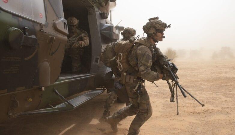 Γαλλικές δυνάμεις στην περιοχή του Σαχέλ
