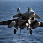 French Navy New Rafale M F3 R Conduct First Operational Mission