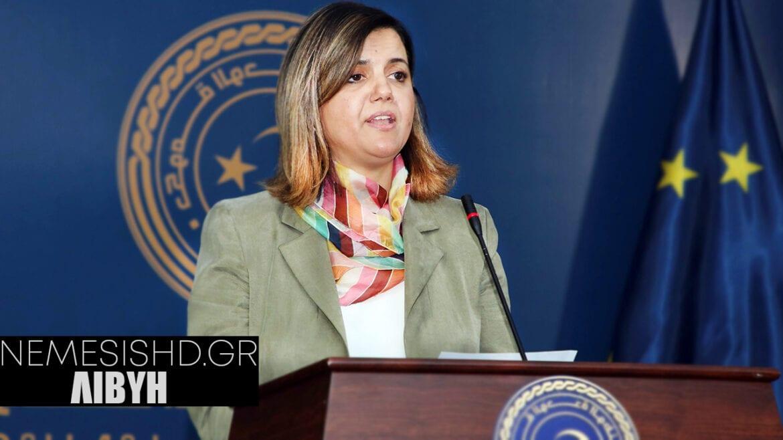 """""""ΝΑ ΑΠΟΧΩΡΗΣΟΥΝ ΟΙ ΤΟΥΡΚΟΙ"""" – Δήλωση της νέας ΥΠΕΞ της Λιβύης"""
