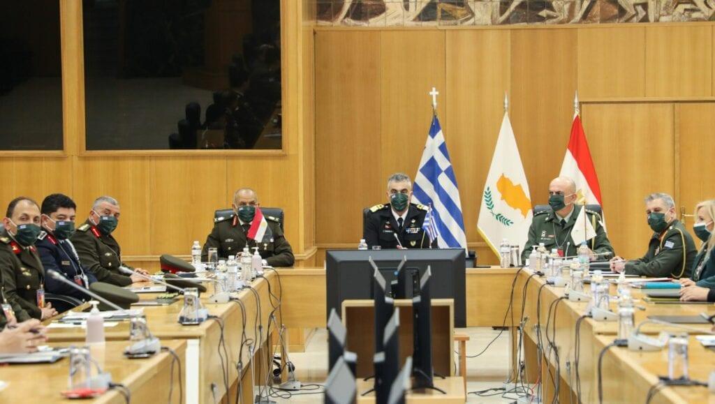 ΓΕΕΘΑ Αιγύπτου Κύπρου, Ελλάδα, Αίγυπτος και Κύπρος υπογράφουν ενίσχυση της στρατιωτικής συνεργασίας, NEMESIS HD