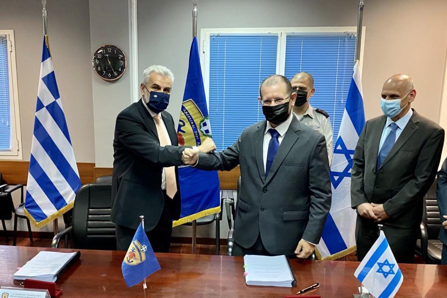 Υπογραφή Αμυντικής Συμφωνίας Ελλάδας – Ισραήλ στη ΓΔΑΕΕ