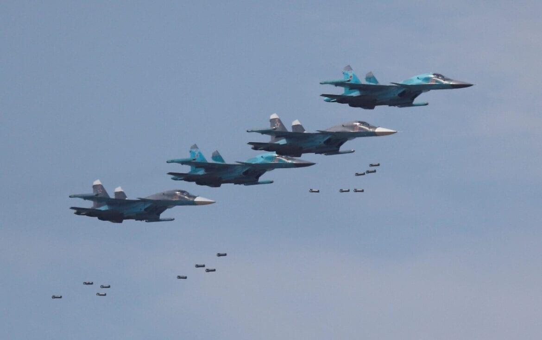 Νέες σφοδρές Ρωσικές αεροπορικές προσβολές: Τουλάχιστον 200 νεκροί ισλαμιστές στην Παλμύρα