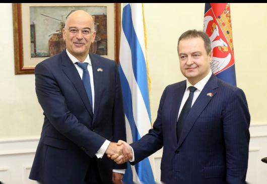 Ελλάδα και Κύπρος προσεγγίζουν τη Σερβία: Επίσκεψη Δένδια και Χριστοδουλίδη