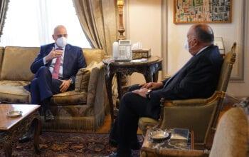 Κάιρο Αιγύπτιο Υπουργό Εξωτερικών Νίκος Δένδιας, ΑΚΟΥΡΑΣΤΟΣ ΥΠΕΞ: Συνάντηση Δένδια στην Αίγυπτο με Σούκρι, NEMESIS HD