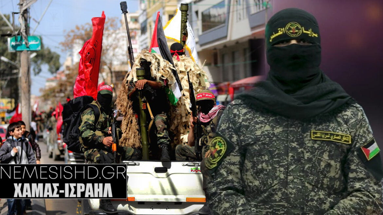 """""""ΘΑ ΣΥΝΤΡΙΨΟΥΜΕ ΤΟ ΙΣΡΑΗΛ""""- Χαμάς για χερσαία επίθεση στη Γάζα"""