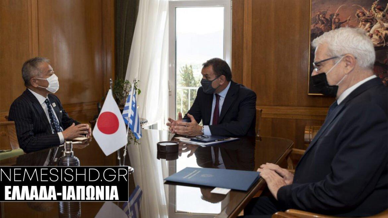 Συνάντηση Παναγιωτόπουλου με Ιάπωνα πρέσβη σε κλίμα εξοπλιστικών
