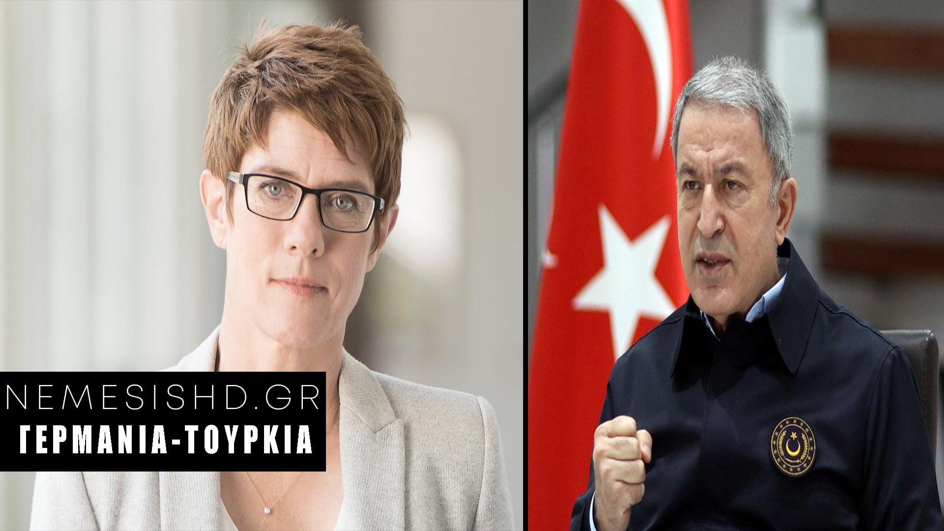 ΠΟΙΟ ΕΜΠΑΡΓΚΟ ΟΠΛΩΝ; Η Γερμανίδα ΥΠΑΜ στην Τουρκία για νέο deal