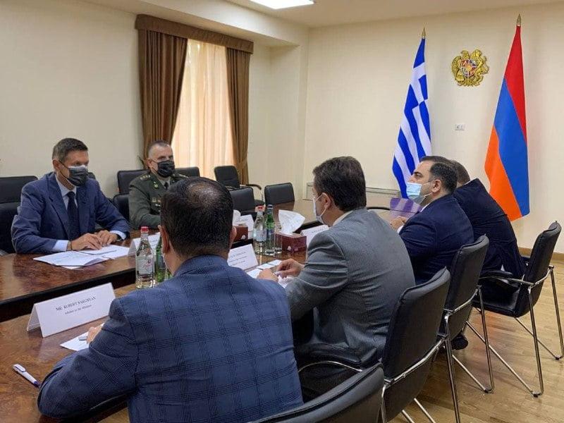 ΕΚΤΑΚΤΟ: Ελλάδα & Αρμενία για Στρατιωτική τεχνολογική Συνεργασία