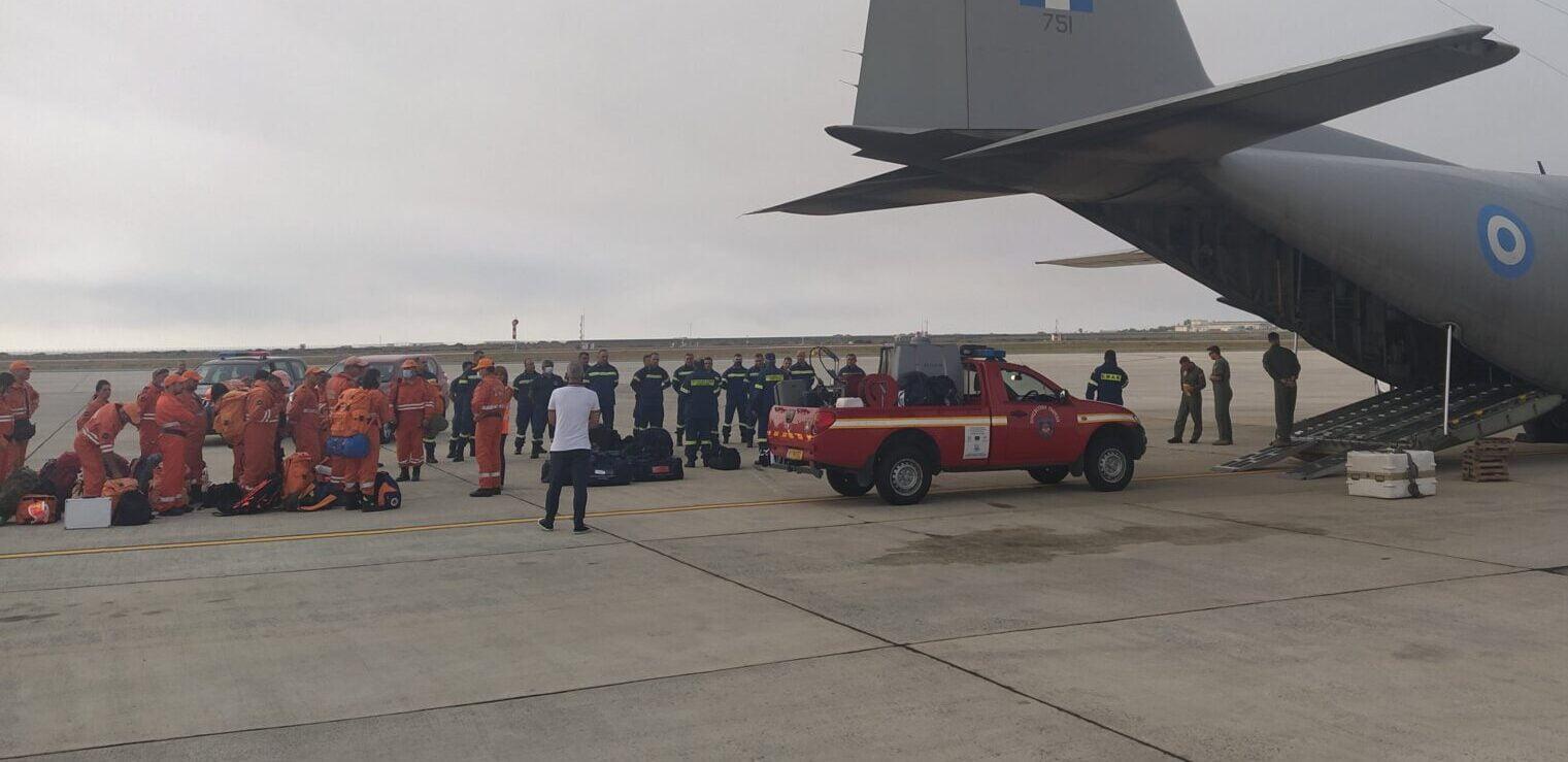 """ΕΡΧΟΝΤΑΙ ΕΝΙΣΧΥΣΕΙΣ: """"Είμαστε δίπλα σας"""" – Κύπρος, Ισραήλ, Σουηδία σπεύδουν για βοήθεια"""