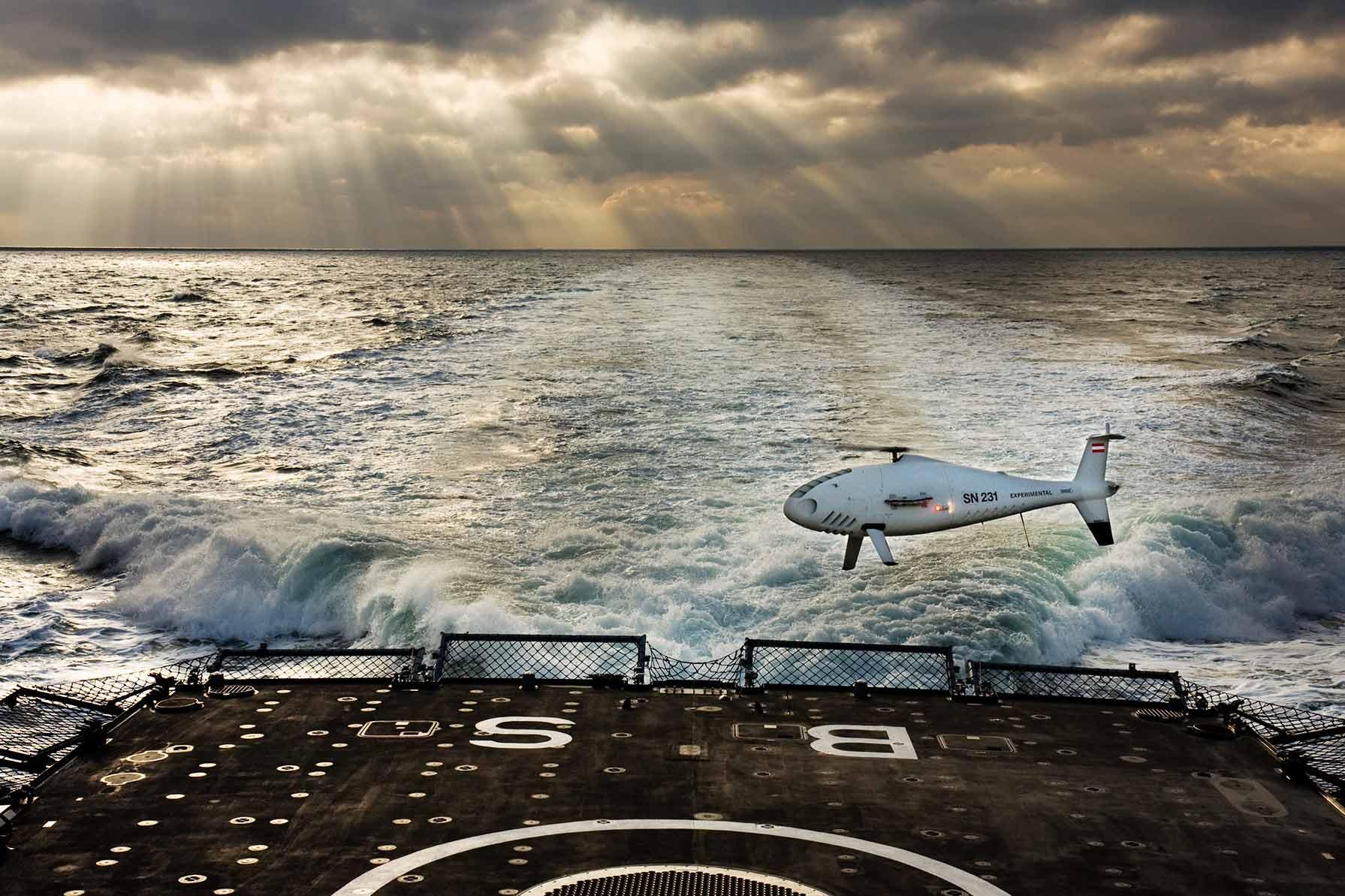 ΝΕΑ UAV ΓΙΑ ΤΟ ΠΝ: Επιτυχής δοκιμή των CAMCOPTER στη Φ/Γ ΑΙΓΑΙΟΝ