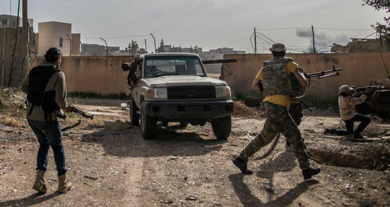 ΕΓΙΝΕ ΤΗΣ ΤΡΙΠΟΛΗΣ: Μάχες μεταξύ των φιλοτουρκικών Λιβυκών δυνάμεων