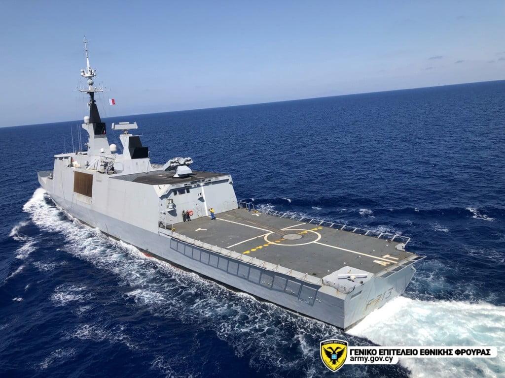 Η ΓΑΛΛΙΚΗ Φ/Γ ACONIT ΣΤΗΝ ΚΥΠΡΟ: Άσκηση με Κυπριακό AW-139