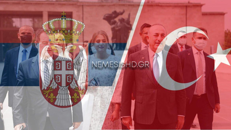 Συνάντηση Τούρκου ΥΠΕΞ με τον Πρόεδρο τηςΣερβικήςΕθνοσυνέλευσης Ίβιτσα Ντάτσιτς