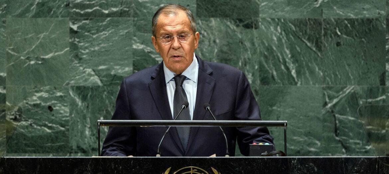ΛΑΒΡΟΦ: «Ψυχροπολεμική η πρόταση των ΗΠΑ»