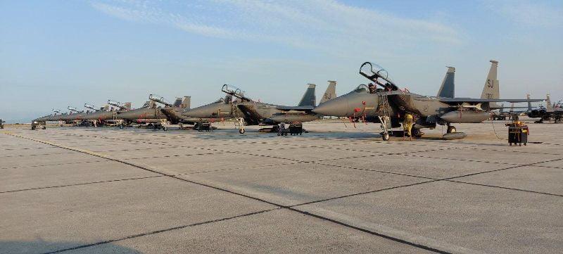 Στην Λάρισα τα θηρία F-15 της USAFE για ασκήσεις