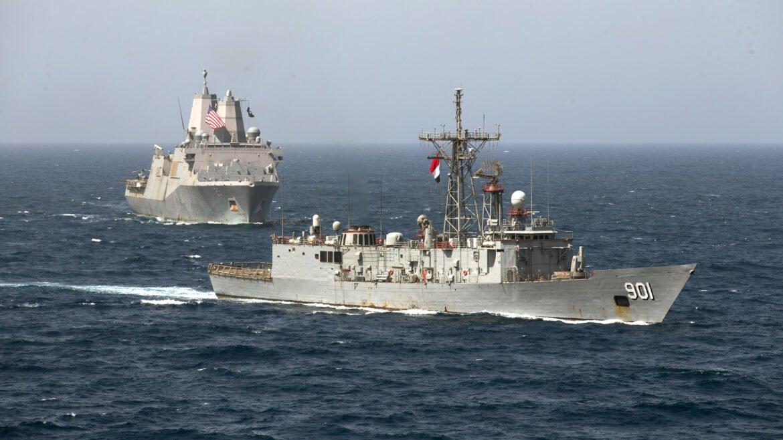 """Διοικητής του Αιγυπτιακού Ναυτικού: """"Μπορούμε να αποτρέψουμε όποιον θέλει να απειλήσει τα εθνικά μας συμφέροντα"""""""
